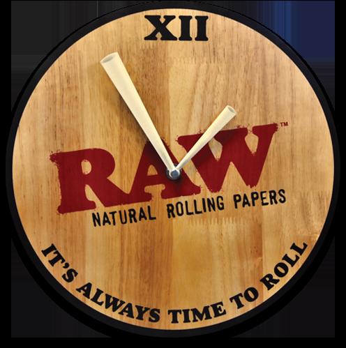 RAW Wooden Wall Clock