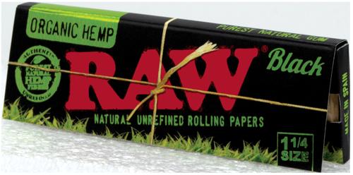 RAW Black Organic Hemp