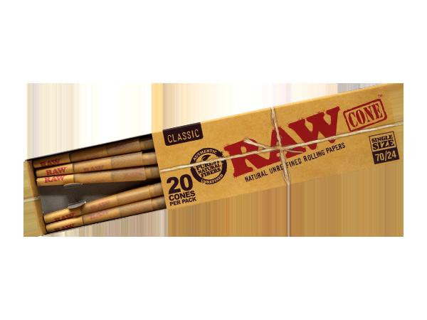 RAW Single Size Cones