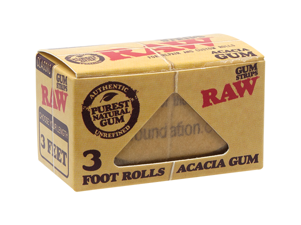 RAW Classic Gum Strips