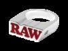 RAW Silver Smoker Ring