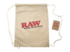 RAW Drawstring Bag Tan Flat