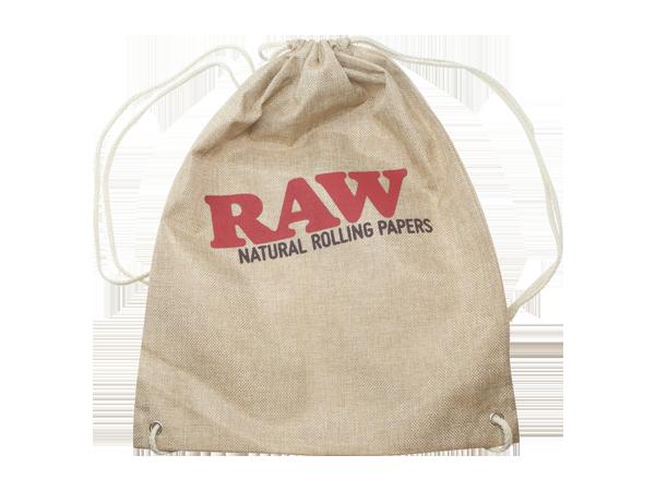 RAW Drawstring Bag Tan