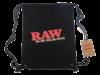 RAW Drawstring Bag Black Flat